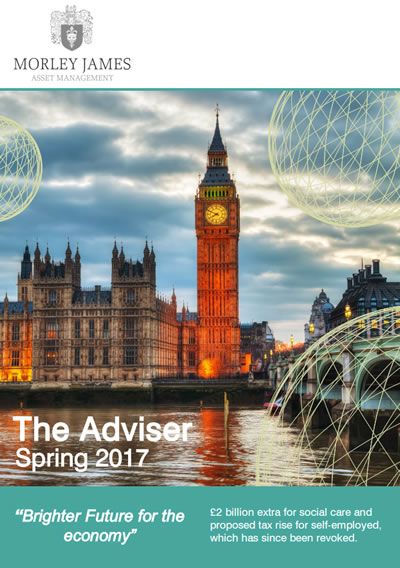 our latest IFA newsletter for our financial adviser clients