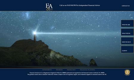 IFA Website Design H