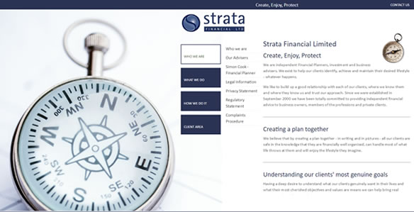 Best IFA website - no 7. Strata
