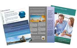 branded newsletters for IFAs