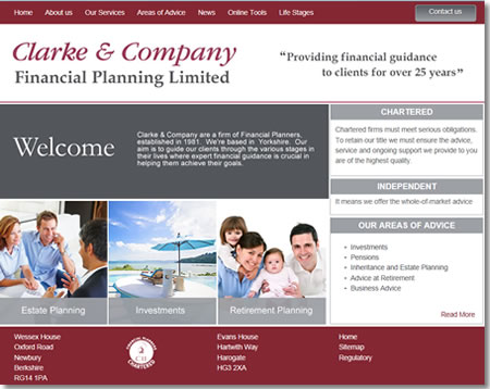 Ifa Web Pro Website Design For Ifas And Financial Planners