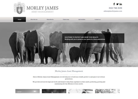 Financial Advisor Website Design by IFA Web Pro