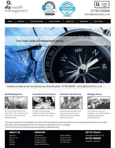 IFA Templated Web Design