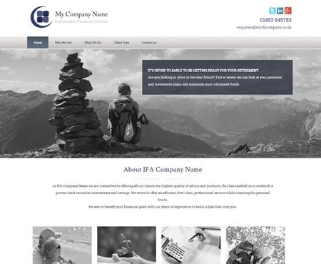 IFA Website Design - Our latest design
