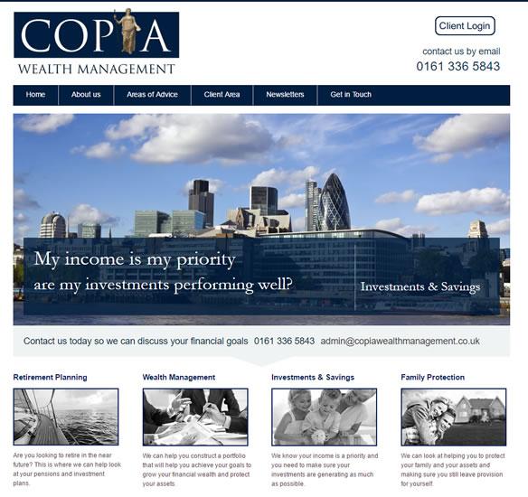 Our ten best wealth management website designs 2 copia wealth management solutioingenieria Images