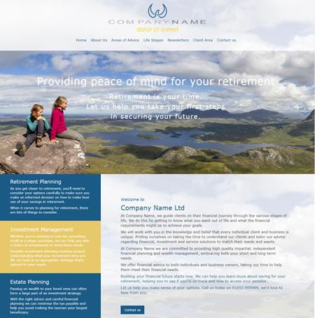 IFA website Design A