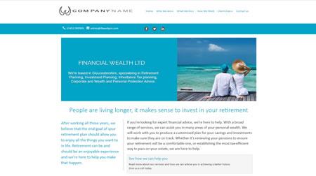 IFA website Design B