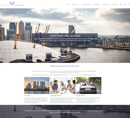 IFA website Design A