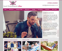 Auto Enrolment Website Design