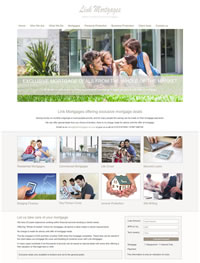 Financial Website Design for Mortgage & Protection Advisers