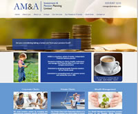 AMA - Financial Planner Website Content