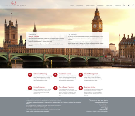 IFA website Design B